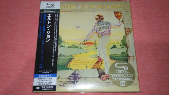Elton John - Goodbye Yellow Brick Road Mini Lp Japan 2cd Shm