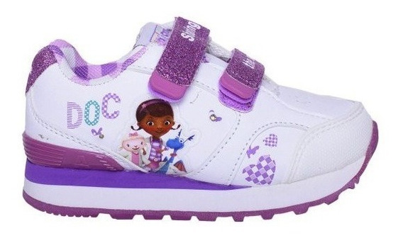 Zapatillas Addnice Running Dra Juguetes Velcro Viol Niños