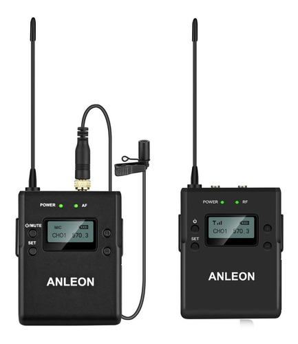 Imagen 1 de 7 de Sistema Inalambrico Anleon P1c Microfono Camaras Digitales