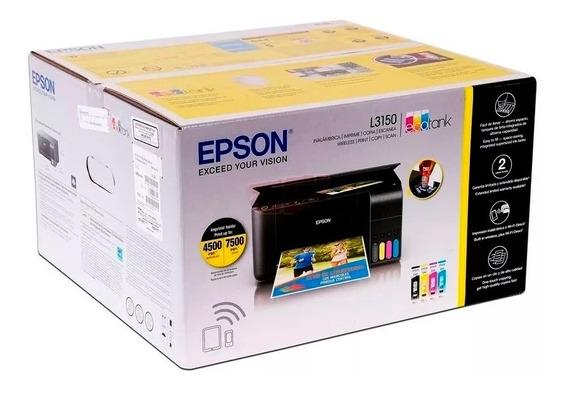 Impresora Multifuncional Epson Ecotank L3150 Oferta