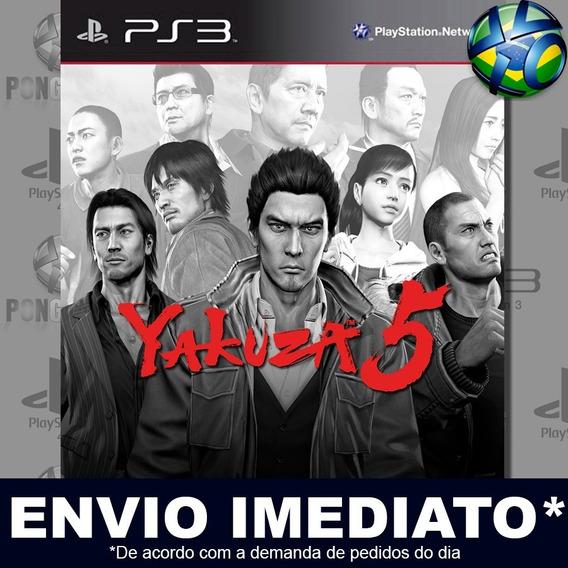 Yakuza 5 Ps3 Psn Jogo Em Promoção A Pronta Entrega Play 3