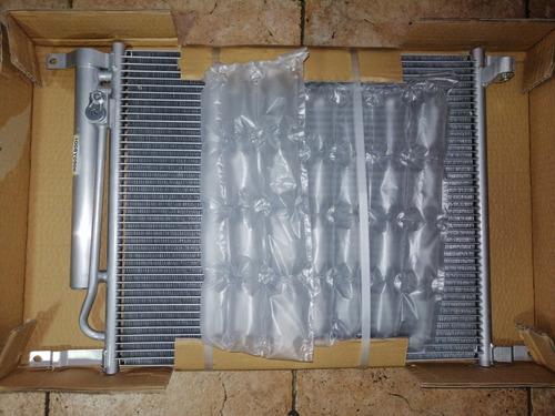 Condensador Chevrolet Aveo Con Silica 2005 2012