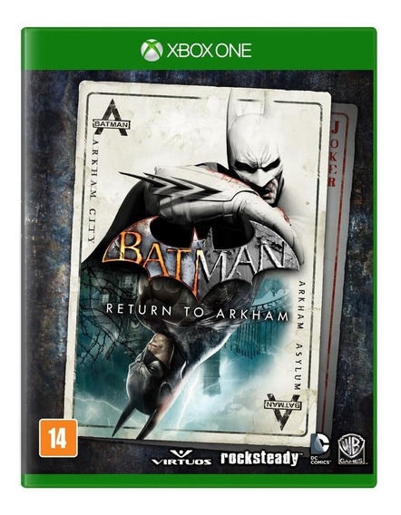 Jogo Batman Return To Arkham - Xbox One - Física - Novo