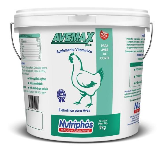 Avemax Plus H Suplemento Vitamínico Para Aves