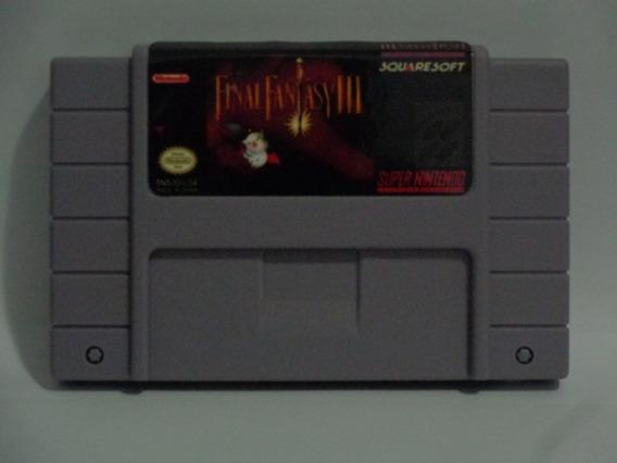 Jogo Final Fantasy 3 Snes Salvando - Frete Barato