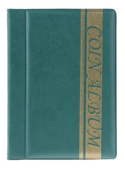 K - 120 Bolsos Moedas Album Collection Book Mini Moedas De A