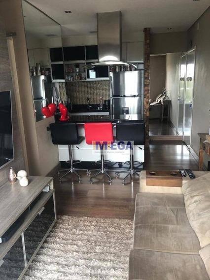 Apartamento Com 2 Dormitórios À Venda, 45 M² Por R$ 290.000 - Jardim Jurema - Valinhos/sp - Ap4096
