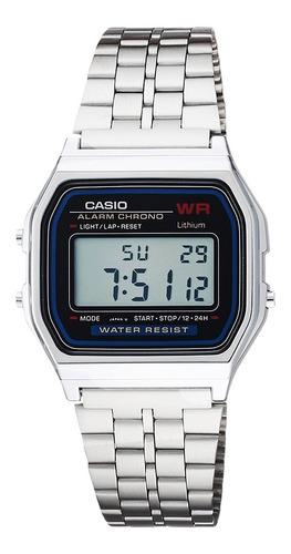Reloj Hombre Casio A159wa-1 Retro Digital / Lhua Store