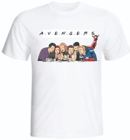 Camiseta Avengers Vingadores Friends