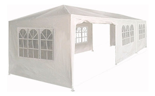 Carpa Toldo 9x3 Lona Impermeable 3 X 9 Pared Jardin