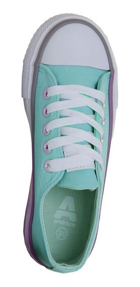 Zapatillas Addnice Moda Plataforma Amparo Cordon Niña Va
