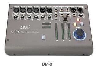 Consola Mixer Digital Soundking Dm-8 8 Canales Usb P/ iPad