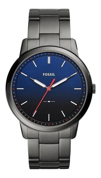 Relógio Fossil Masculino The Minimalist Grafite - Fs5377/1cn