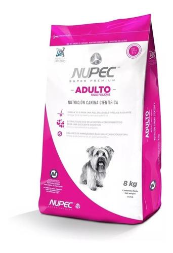 Imagen 1 de 1 de Nupec Adulto Razas Pequeñas 8kg 100% Original Amplia Caducid