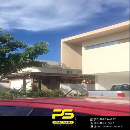 Casa Com 4 Dormitórios À Venda Por R$ 2.400.000 - Portal Do Sol - João Pessoa/pb - Ca0691