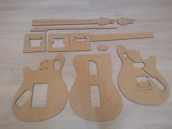 Gabarito Wolfgang Peavey Evh Em Mdf Ao Mestre Luthier
