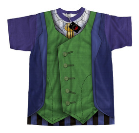 Camiseta Dryfit Traje Heath Ledger Coringa
