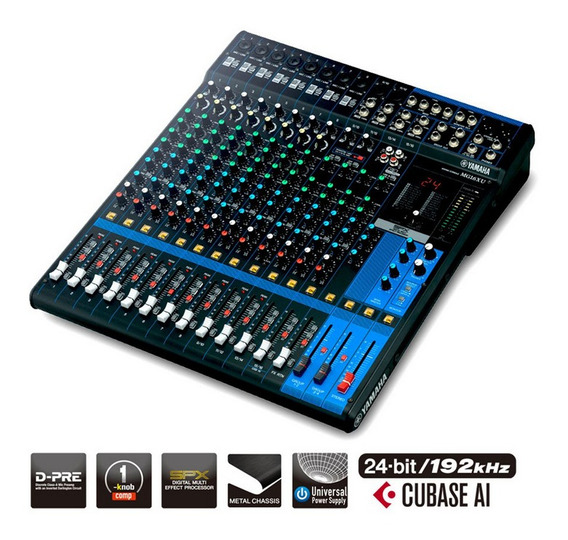 Mesa De Som Yamaha Mg16xu C/ Efeito/usb