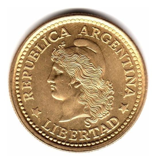 Moneda Argentina 50 Centavos 1975 Cj#334.2 Sin Circular