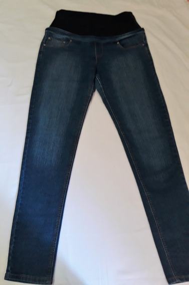 Pantalon Para Dama Maternal Marca Nicole T=30, Color Azul