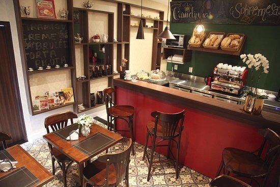 Cafeteria 100% Cafe E Salg Em Shop Gonzaga Gar Lucro12mil/me