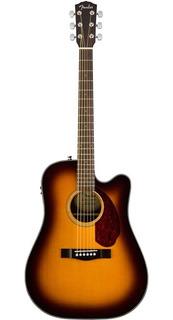 Guitarra Fender Cd-140sce Sunburst, C/estuche, Meses Y Envío