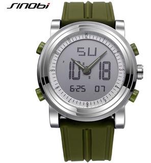 Reloj Sinobi Pantalla Digital Deportivo Hombre