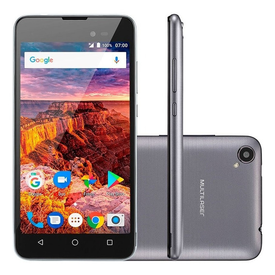Smartphone Multilaser Ms50l Dual Chip Android 7 Quadcore 8gb