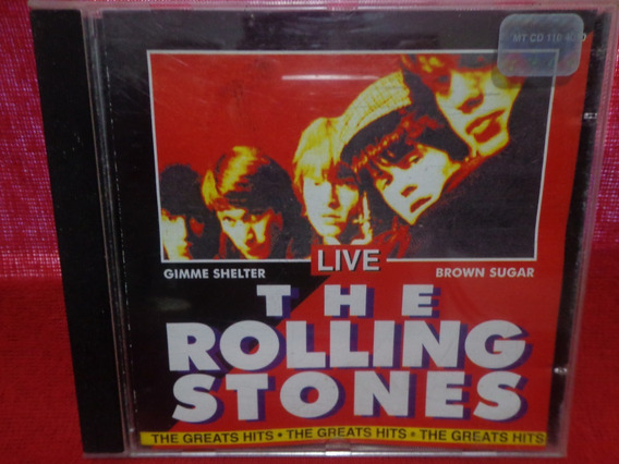 Cd The Rolling Stones - Live