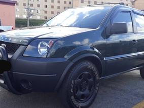 Ford Ecosport 1.6 Completa,couro,pneu Zero Pegar E Rodar. Ok