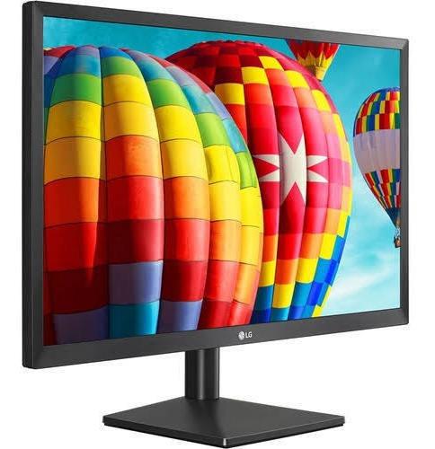 Monitor LG 24mk430h Led 23.8 Preto 110v/220v