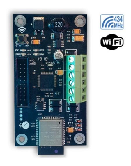 Modulo Comunicador Ip-500g Wifi Garnet Alonso App Celular