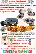 Turbos Nuevos Hyundai Galloper 2.5 D4bh Guatema