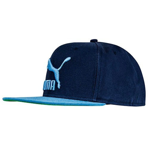 Gorra Ls Colourblock Snapback 052942-33 Marino-azul Unisx Pv