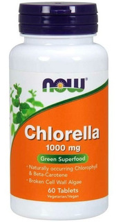 Chlorella (60 Tabletes) - Now Foods