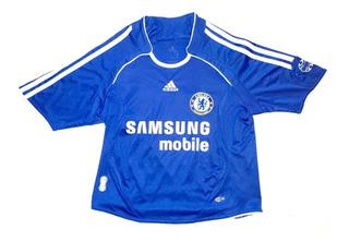 Camiseta Chelsea Futebol Clube Infantil Inglaterra adidas 3s