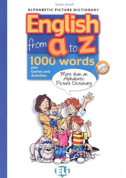 English From A To Z - 1000 Words Plus Games And Activities
