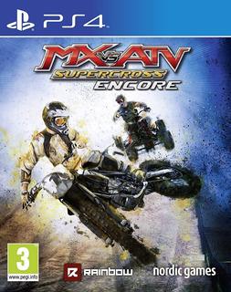 Mx Vs. Atv Supercross Encore ~ Ps4 Digital Español