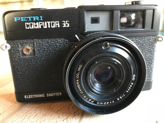 Câmera Fotográfica Petri Computor 35