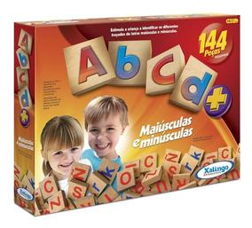 Brinquedos Educativos - Abcd+ (144 Peças) - Xalingo