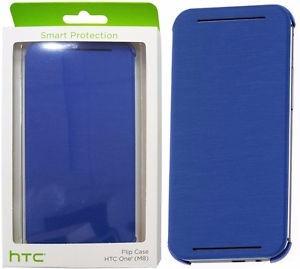 Estuche Case Flip Cover Htc One M8 Original Azul Htc Hc V941