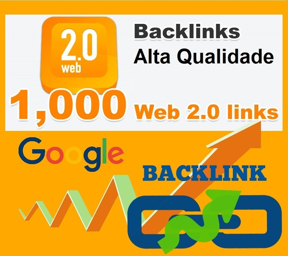 1000 Backlinks Do-follow Melhorar Google Page Rank Otimizar