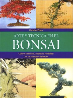 Libro Arte Y Técnicas En El Bonsai, Libro Fisico, Nuevo