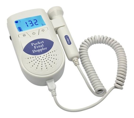 Detector Fetal Doppler Contec Sonoline C1 Com Gel E Pilhas