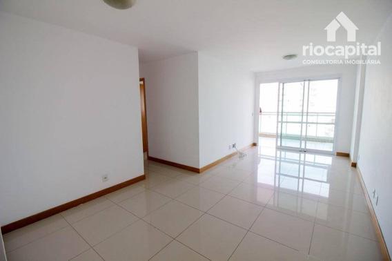 Apartamento Com 4 Quartos Para Alugar, 104 M² Por R$ 2.500/mês - Barra Da Tijuca - Rio De Janeiro/rj - Ap1398