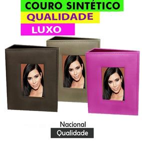 Kit Album Para 1080 Fotos 10x15 De Couro Sintético