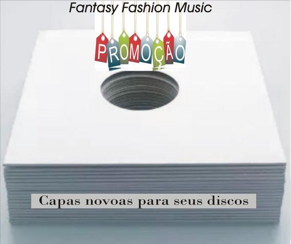 50 Capas Vinil + Plasticos Inter. Vinil Sacos Discos