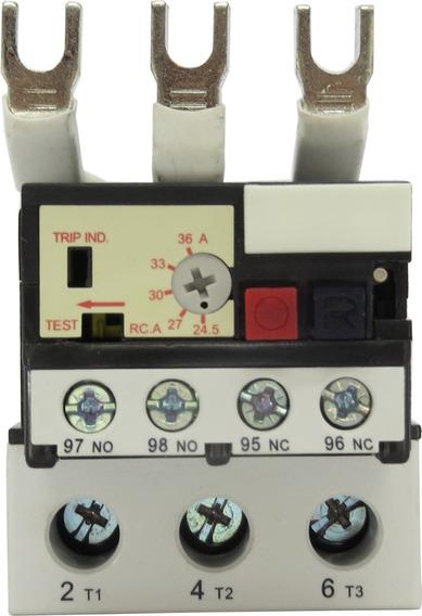 Relê Térmico De Sobrecarga 24,5a-36a Para Contator De 55-75