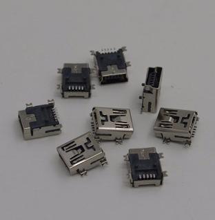 Conector Mini Usb Hembra Tablet Varias Marcas 5pinestipo-b