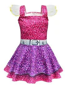 Vestido Fantasia Lol Surprise Pronta Entrega